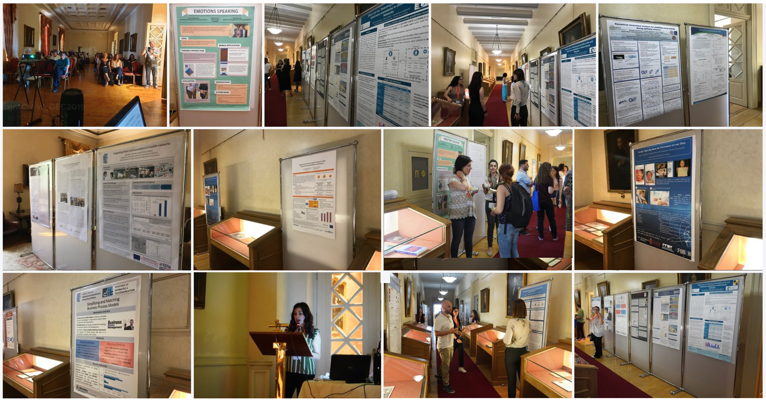 GEC '19 poster session